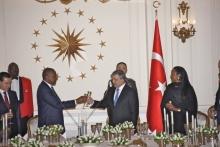 President Kenyatta and Abdullah Gul